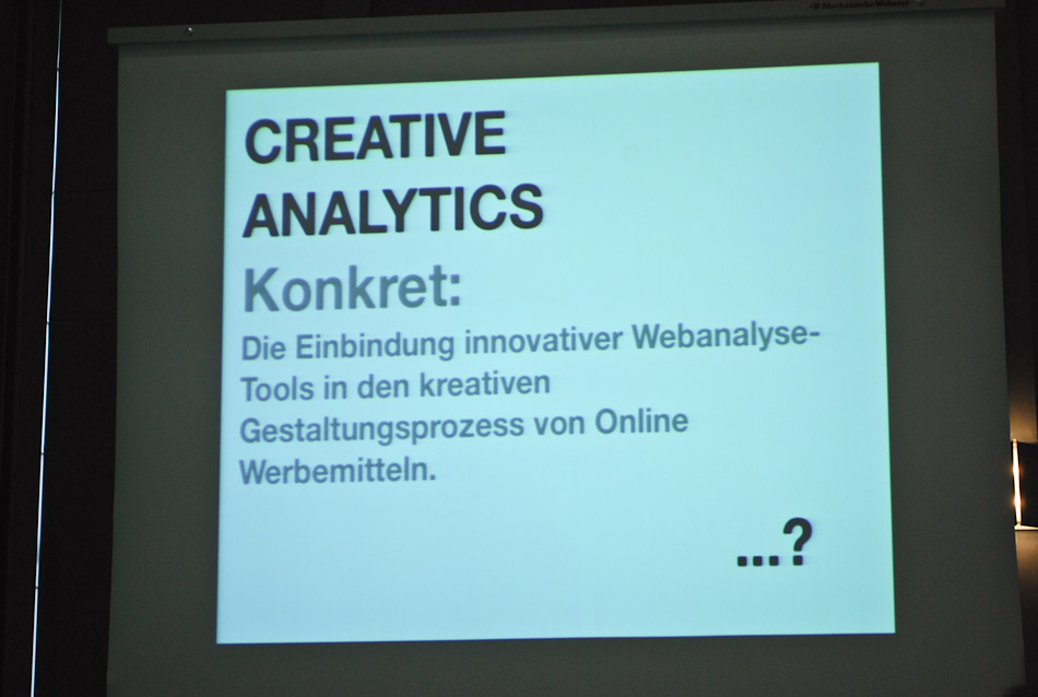 Creative Analytics